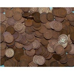 Lot of 250 Indian Head Pennies-Goods