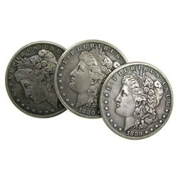 Random Date Uncirculated Morgan Silver Dollar-