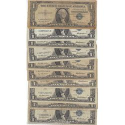 100 SILVER CERTIFICATES-G-XF