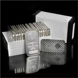 Morgan Design SIlver Bullion Bars 1 oz. Pure  (10)