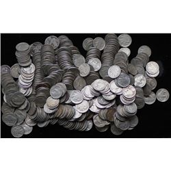 LOT OF 300 BUFFALO NICKELS