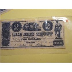 1839 $2.00 BANK  NOTE(replica)