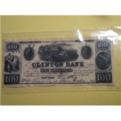 1839 $100.00 BANK NOTE(replica)