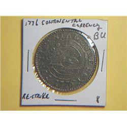 1776 CONTINENTAL DOLLAR CURRENCY(replica)