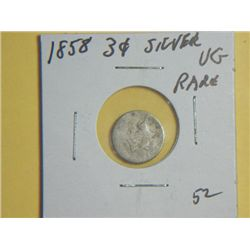 1858 3 CENT NICKEL