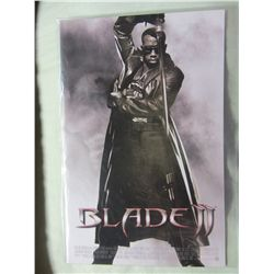 Blade II Poster Book  Marvel Legends AF Modern Comics