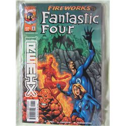 Marvel Remix Fantastic Four Fireworks Modern Comics