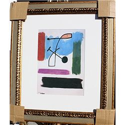Woman Walking Down The Street  - Miro - Limited Edition