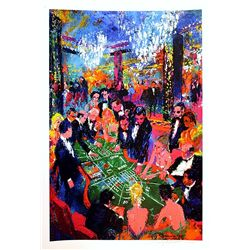 Leroy Neiman Double Signed Lithograph - Ballarat Atlantic City-