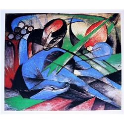 Franz Marc - Horse Dreaming - Limited Edition on Paper