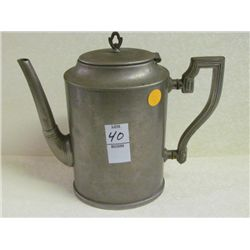 "Art Deco Teapot  8.5"" tall"