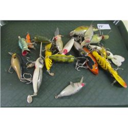 Early Fishing Lures - approx 17 lures