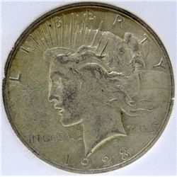 1923-S Peace Silver Dollar TAS MS-65