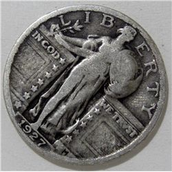 1927 Standing Liberty Quarter Key Date