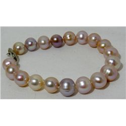 Fresh Water Tri colored Pearl Bracelet