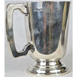 Vintage Sheffield sterling silver mug