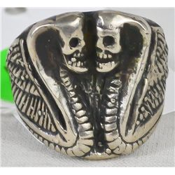 Vintage sterling silver men's ring