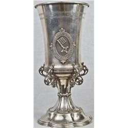 Antique German 800 silver trophy cup by Wilkens