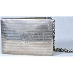 Antique sterling silver wallet