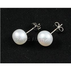 9.32CTW WHITE SIOPAO EARRING PHILIPPINES