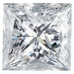 EGL USA 1.52 ctw Certified Princess Brilliant Diamond G