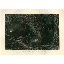 "Palmer ""The Sepulchre"" Eclogue 8 Original Etching"