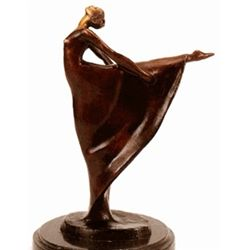"""Ballet Dancer"" Bronze Sculpture - Gennarelli"