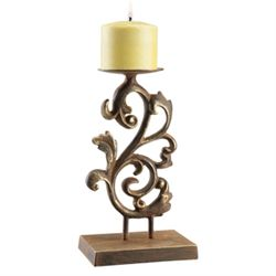 Vine Pillar Candle Stick