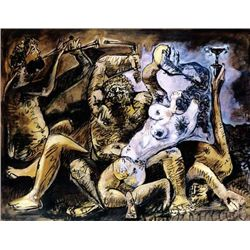"Picasso ""Bacchanal"""