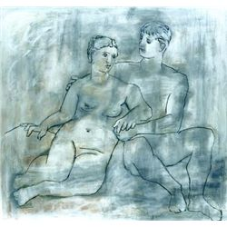 "Picasso ""The Lovers"""