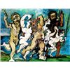 Picasso &quot;Silenus Dancing In Company&quot;