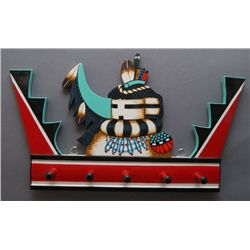 HOPI STYLE WALL PLAQUE