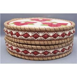 CHIPAWA QUILLED CONTAINER