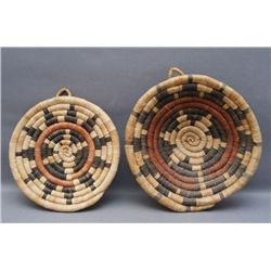 2 HOPI BASKETS