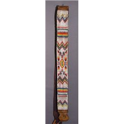 PLAINS BEADED BELT