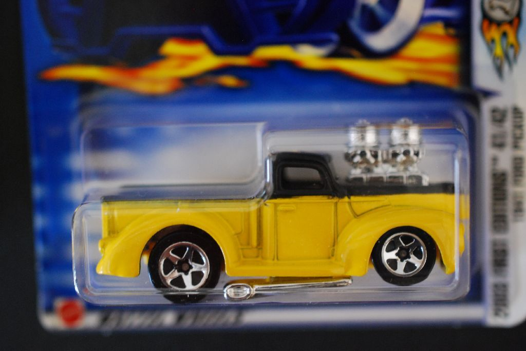 2002 Mattel Hot Wheels Car 2003 First Editions 1941 Ford Pickup