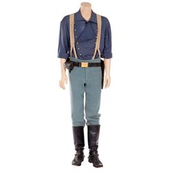 "KEVIN COSTNER ""LIEUTENANT JOHN DUNBAR"" COSTUME FROM DANCES WITH WOLVES."