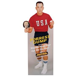 "TOM HANKS ""FORREST GUMP"" TABLE TENNIS STANDEE FROM FORREST GUMP"
