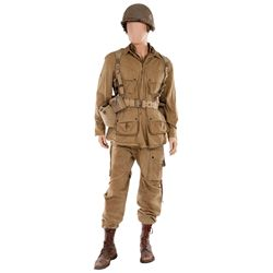 "MATT DAMON ""PRIVATE RYAN"" SIGNATURE MILITARY UNIFORM FROM SAVING PRIVATE RYAN"