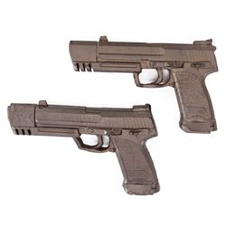 "PAIR OF ANGELINA JOLIE ""LARA CROFT"" STUNT PISTOLS FROM LARA CROFT: TOMB RAIDER"