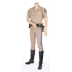 "ERIK ESTRADA ""CHIPS"" UNIFORM FROM CHIPS"