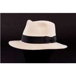 CRÈME FEDORA PERFORMANCE-WORN BY MICHAEL JACKSON