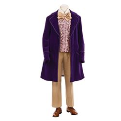 "GENE WILDER ""WILLY WONKA"" SIGNATURE COSTUME FROM WILLY WONKA & THE CHOCOLATE FACTORY."