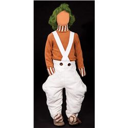 OOMPA LOOMPA COSTUME FROM WILLY WONKA & THE CHOCOLATE FACTORY