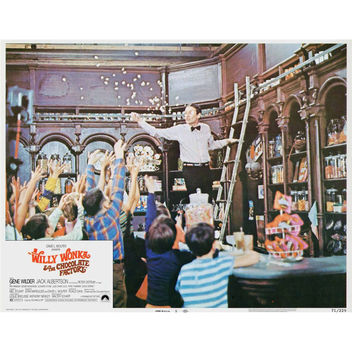 willy wonka u0026 the chocolate factory 1 sheet poster and complete