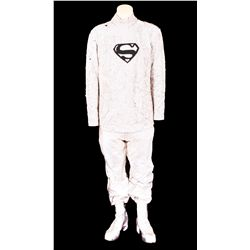 "MARLON BRANDO COMPLETE SIGNATURE ""JOR-EL"" COSTUME FROM SUPERMAN: THE MOVIE."