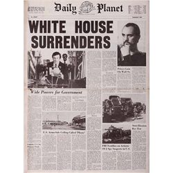 PROP DAILY PLANET NEWSPAPER FROM SUPERMAN II