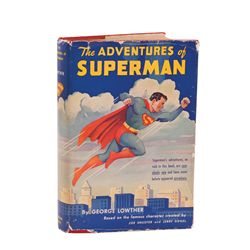 """EDITION OF THE FIRST SUPERHERO NOVELIZATION: """"THE ADVENTURES OF SUPERMAN"""""""