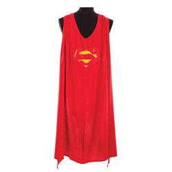 """GEORGE REEVES """"SUPERMAN"""" CAPE FROM THE ADVENTURES OF SUPERMAN"""