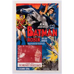THE NEW ADVENTURES OF BATMAN AND ROBIN 1-SHEET POSTER.